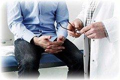Hvordan undersøger lægen for forstørret prostata?