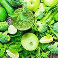Grønne grøntsager
