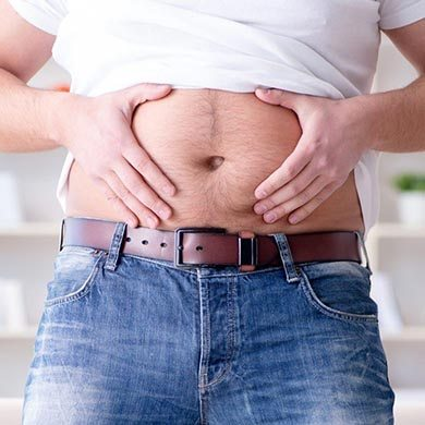 Hvornår har man for meget luft i maven?