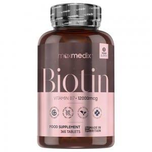 maxmedix Biotin 365 kapsler