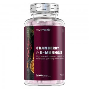 Cranberry and D-Mannose Capsules thumbnail