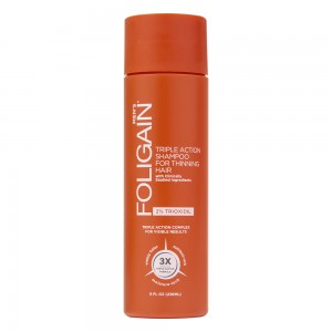 Foligain Trioxidil Shampoo til mandligt hårtab