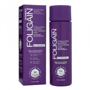 Foligain Trioxidil Shampoo til kvindeligt hårtab
