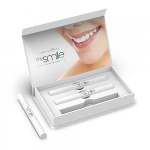 Eco Masters mySmile Teeth Whitening Pen - 3 x 2ml Teeth - Natural Teeth Whitening Gel Pen