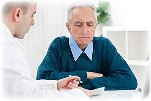 Få målt penis krumning ved en læge
