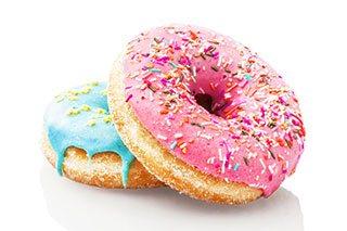 Drop donuten